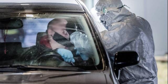 Wieruszów: Mobilny punkt badań na koronawirusa kończy działalność. Przebadano ponad 600 osób